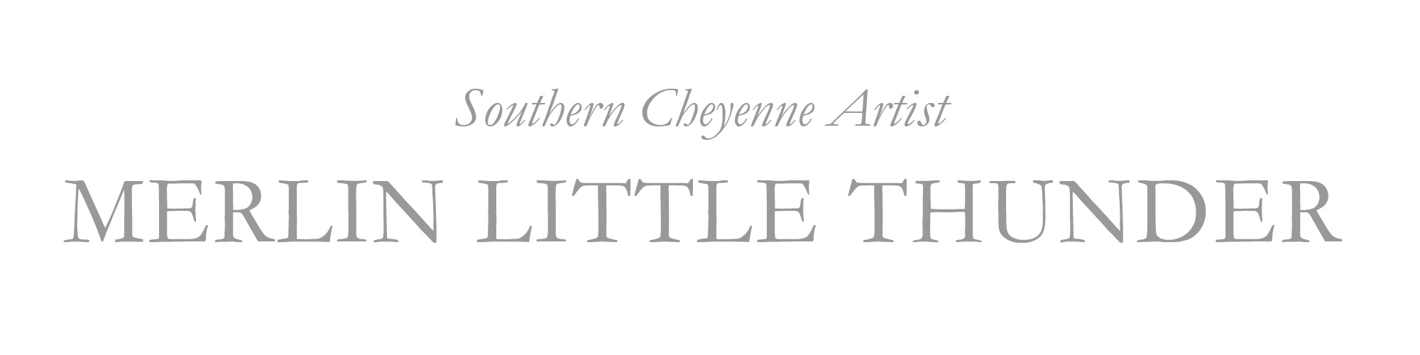 Southern Cheyenne Artist